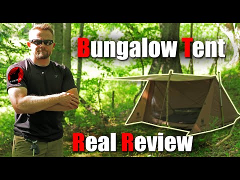 OneTigris Backwoods Bungalow 2.0 Tent - Real World Agenda Free Review