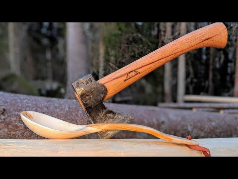 Wooden Spoon Carving with Gränsfors Bruks Axes