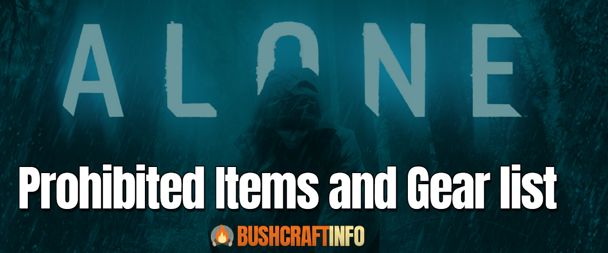 alone rules prohibited items and gear list